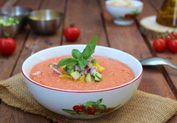 Gazpacho, zuppa fredda al pomodoro