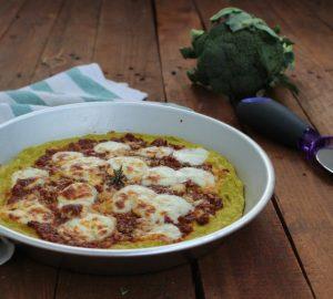 Pizza broccoli alla margherita