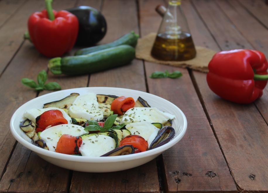 Insalata di verdure grigliate
