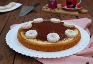 Crostata morbida Tiramisù SENZA UOVA