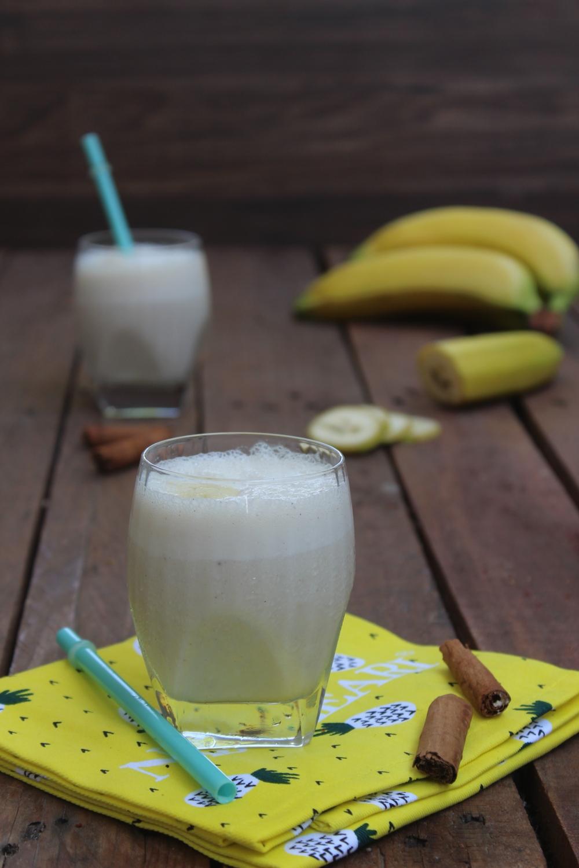 Frappè banane e cannella