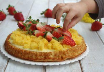 Crostata morbida Mimosa