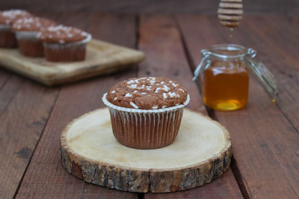 Muffin alla nutella e miele