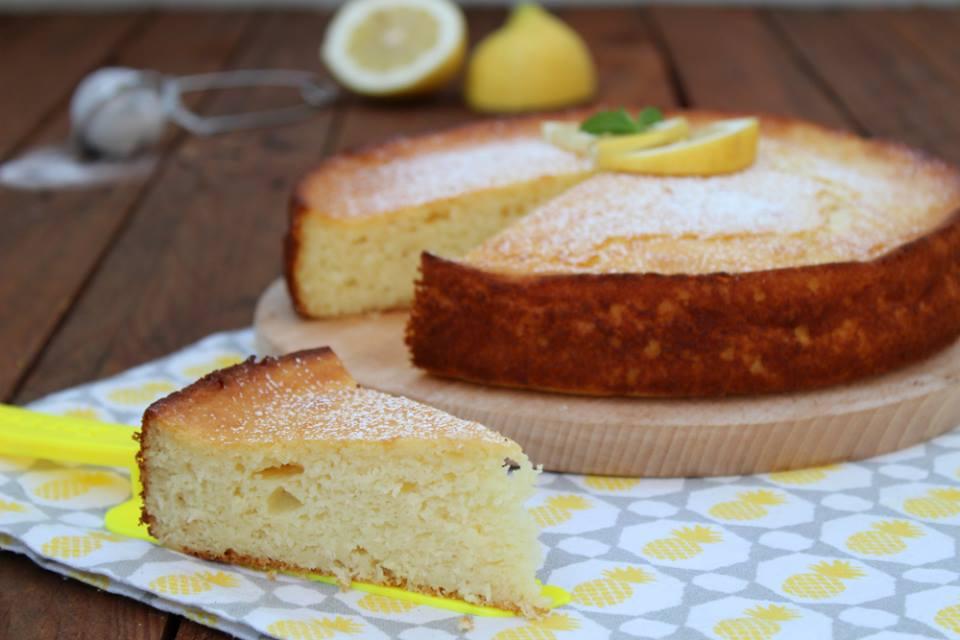 Torta al limone e cocco senza burro
