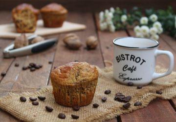 Muffin al caffè e noci