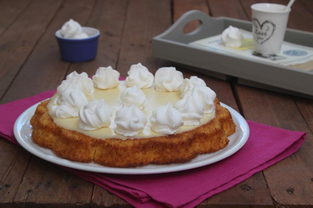 Crostata morbida con cioccolato bianco