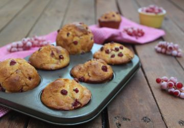 Muffin allo yogurt e ribes