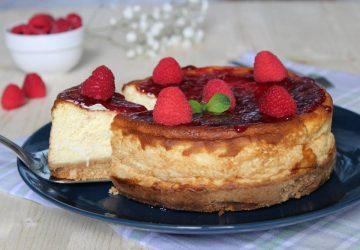 New York Cheesecake con marmellata