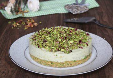 Cheesecake alpistacchio