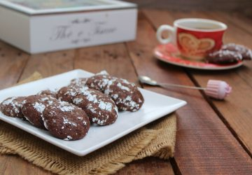 Cookies Fudge al cioccolato