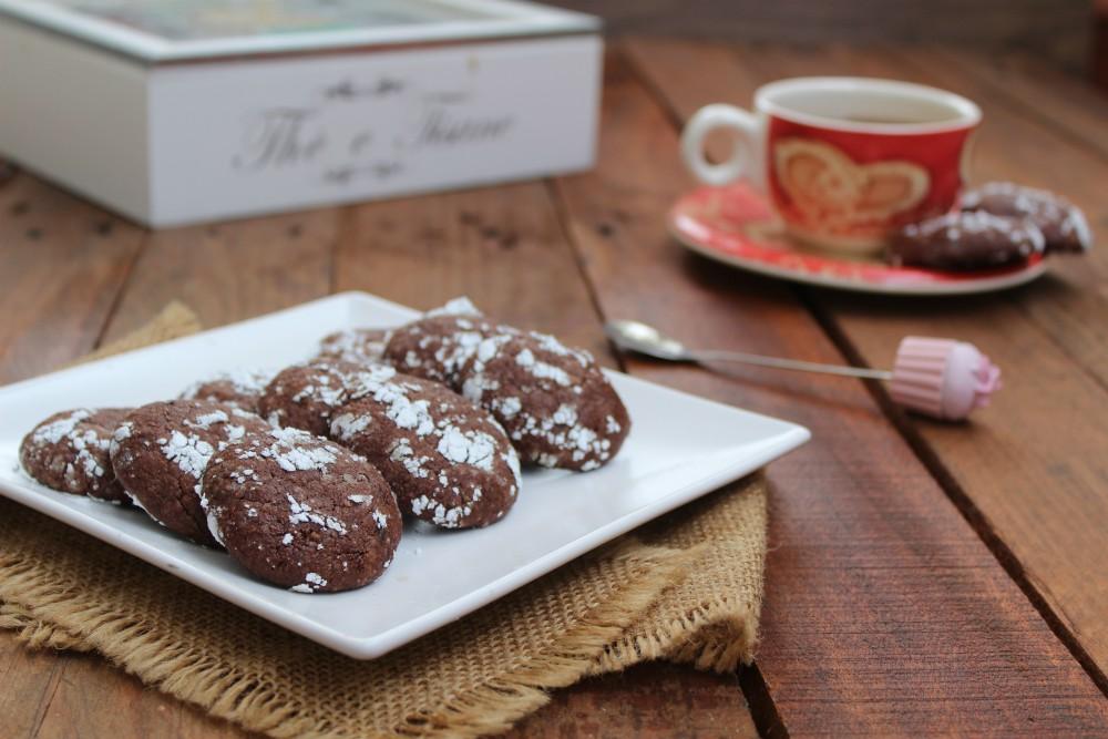 Cookies Fudge al cioccolato