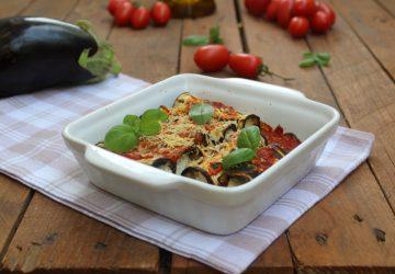 Cannelloni vegetariani di melanzane