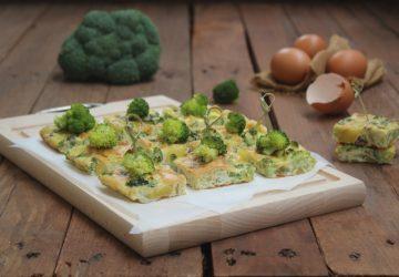 Frittata di broccoli e acciughe