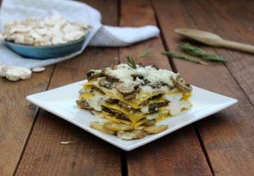 Lasagne con funghi e tartufo