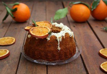 Ciambella all'acqua con arancia senza glutine