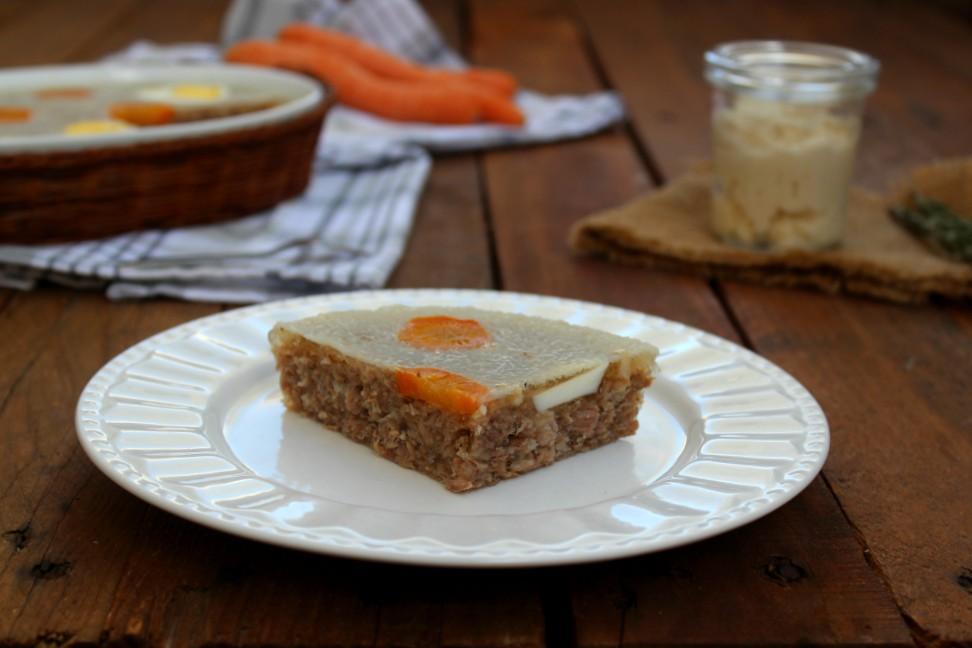 Carne in gelatina alla russa- Studen