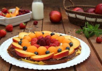 Pancake Torta con frutta