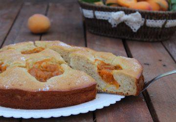 Torta soffice con marmellata di albicocche