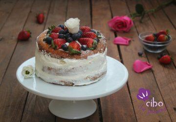 Naked cake con fragole