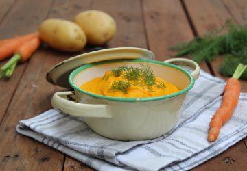 Vellutata di carote e patate