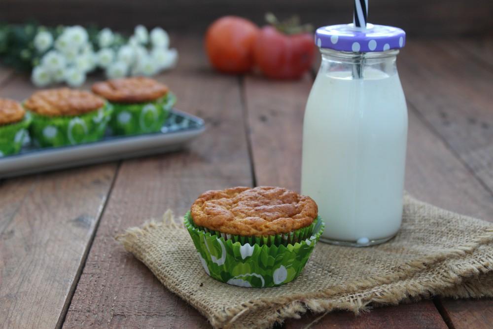 Muffin soffici ai cachi SENZA BURRO