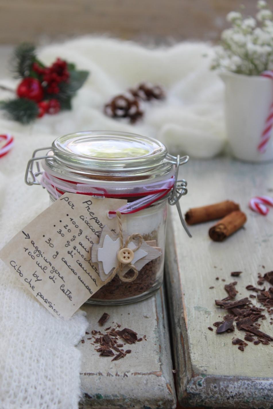 Regali Di Natale Culinari Fai Da Te.Regali Di Natale Fai Da Te Preparato Per Cioccolata Calda Cibo Che Passione