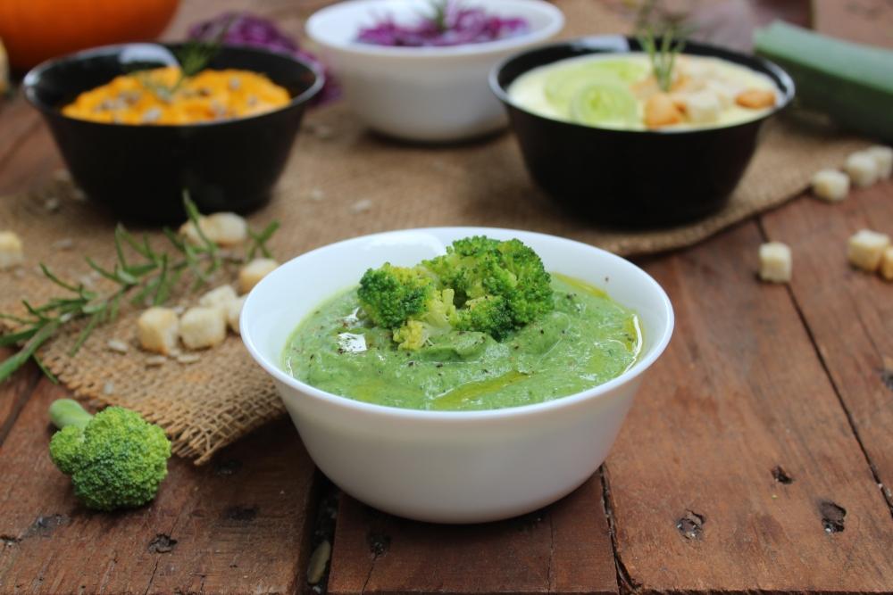 Vellutata di broccoli.