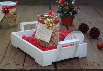 Regali di Natale fai da te: zuppa in barattolo