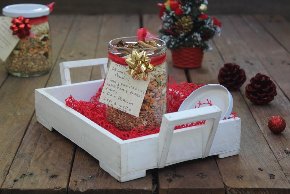 Regali di Natale fai da te: zuppa in barattolo - Cibo Che Passione