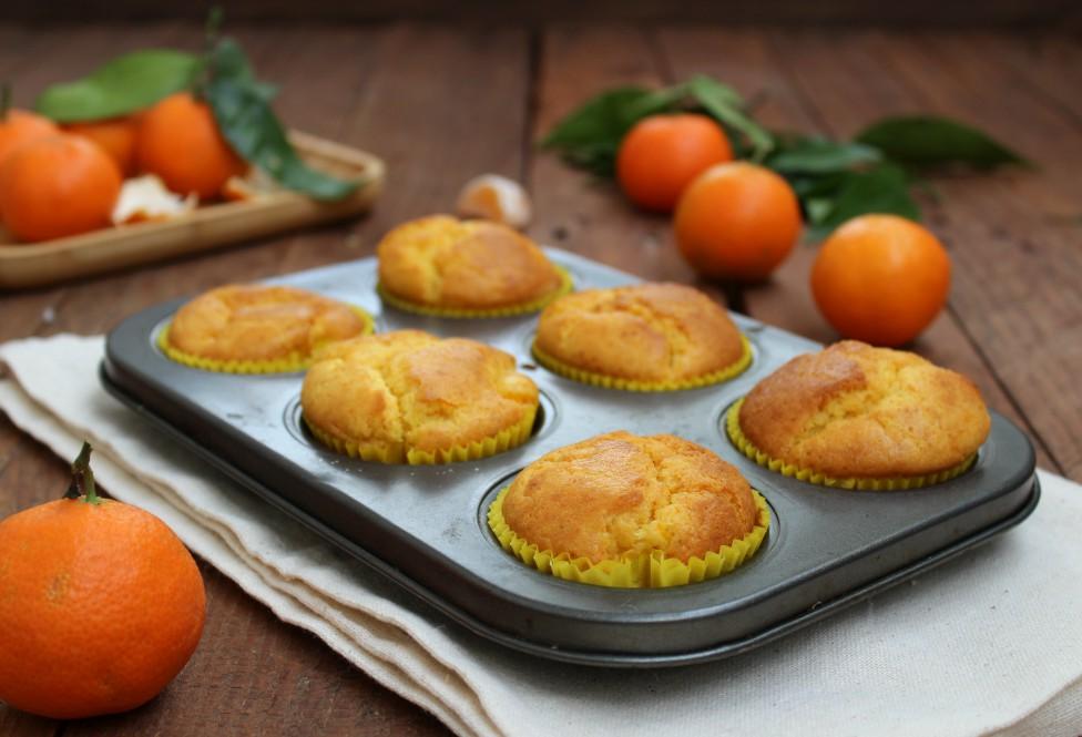 Muffin con mascarpone e mandarini