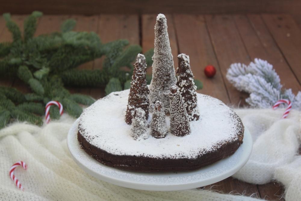 Torta Tenerina natalizia