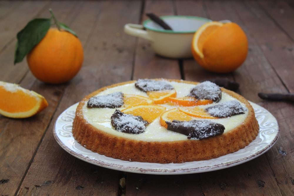 Crostata morbida all'arancia