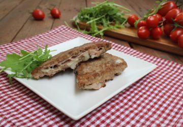 Tramezzini di carne filanti