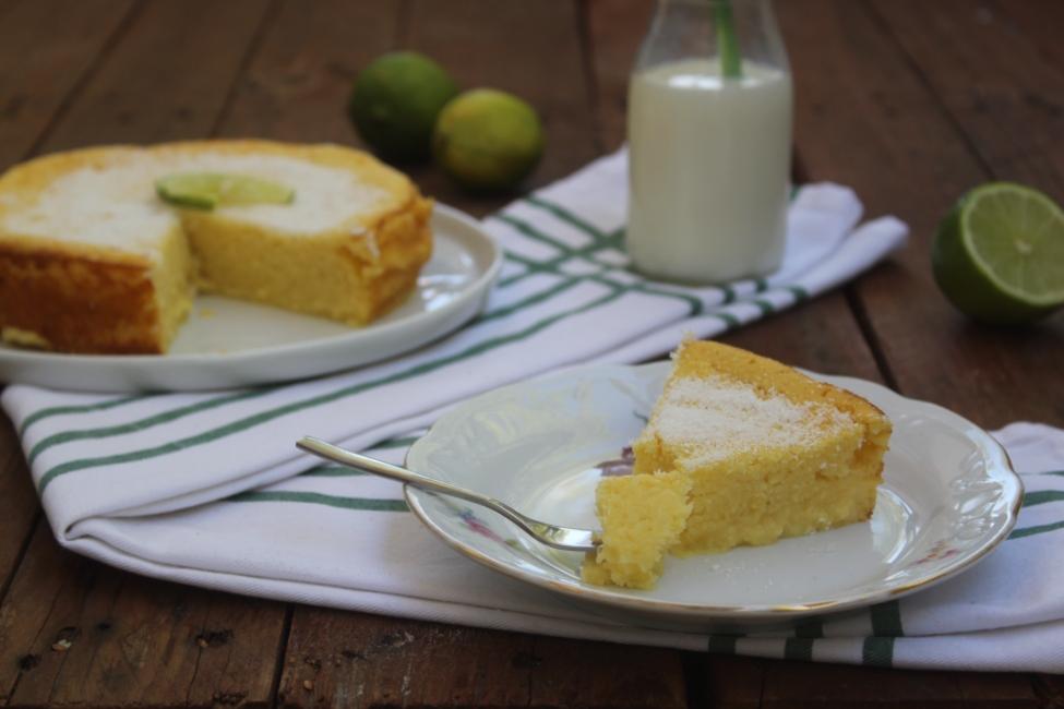 Torta impossibile al limone