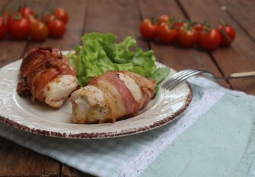 Involtini di pollo al bacon
