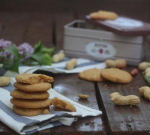 Cookies con burro di arachidi