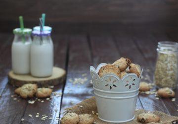 Cookies con fiocchi d'avena.