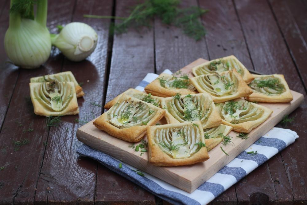 Sfogliatine salate con finocchi