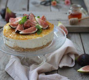 Cheesecake con fichi e miele
