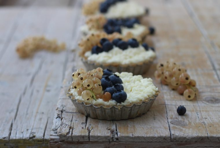 Crostatine senza cottura con mascarpone
