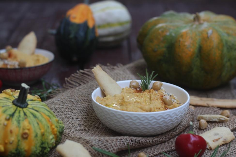 Hummus alla zucca