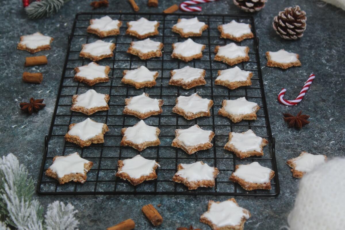 Biscotti Di Natale Zimtsterne.Stella Alla Cannella Zimtsterne Cibo Che Passione